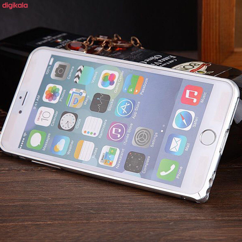 بامپر مدل LF156 مناسب برای گوشی موبایل اپل iPhone 6/6S به همراه محافظ پشت گوشی main 1 2