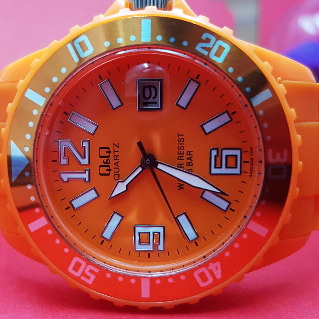 ساعت مچی عقربه ای کیو اند کیو مدل a430j005y