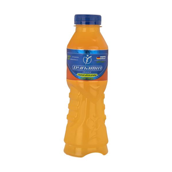 نوشابه ویتامینه ورزشی ایزوتونیک داینامین با طعم پرتقال - 500 میلی لیتر