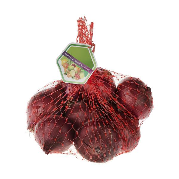 پیاز قرمز میوه پلاس - 1 کیلوگرم