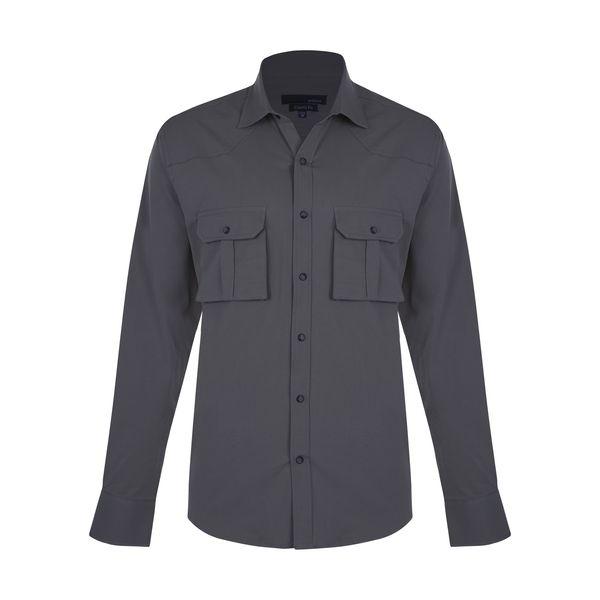 پیراهن آستین بلند مردانه پاتن جامه مدل 102221000152556