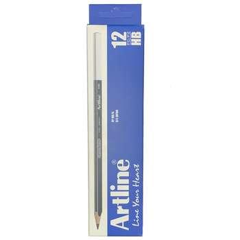 مداد مشکی آرت لاین مدل EP-HB.IL بسته 12 عددی