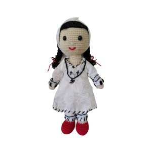عروسک بافتنی مدل ایرانی