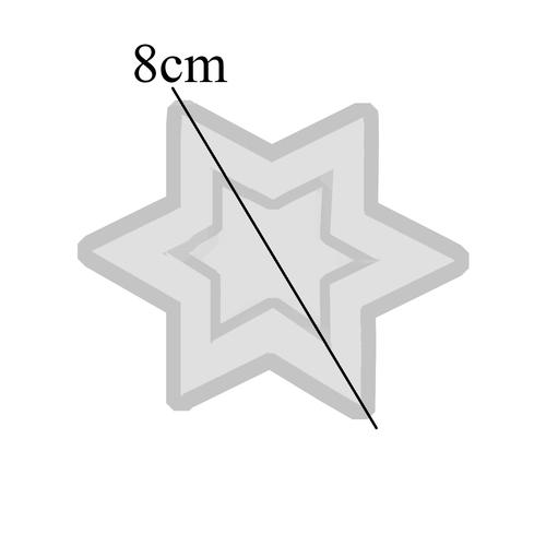 قالب رزین مدل استار کد AC 267