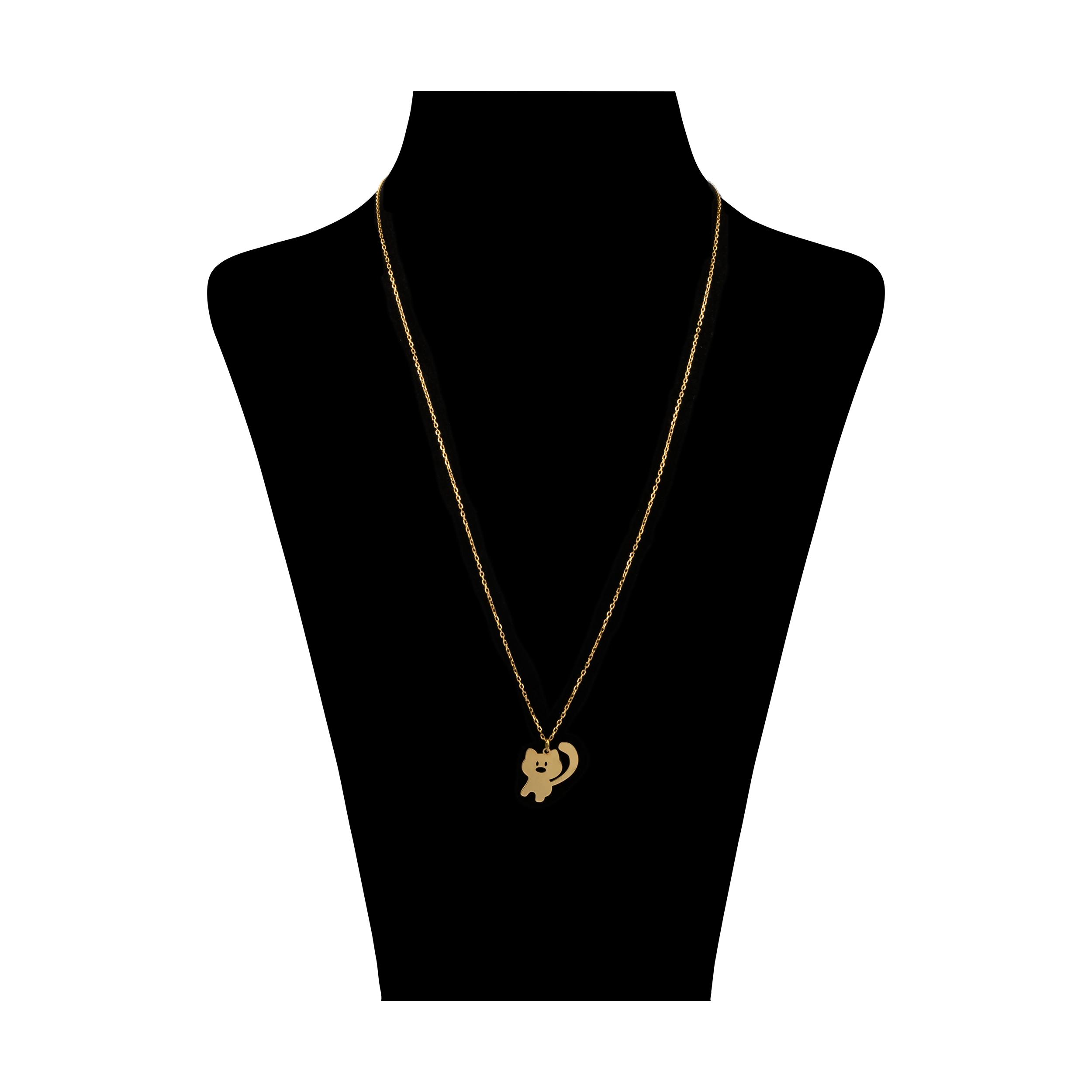 گردنبند طلا 18 عیار زنانه نیوانی مدل N1075