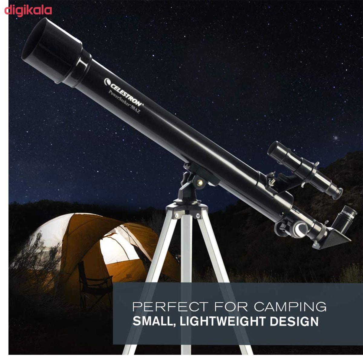 تلسکوپ سلسترون مدل  PowerSeeker کد 50 main 1 4