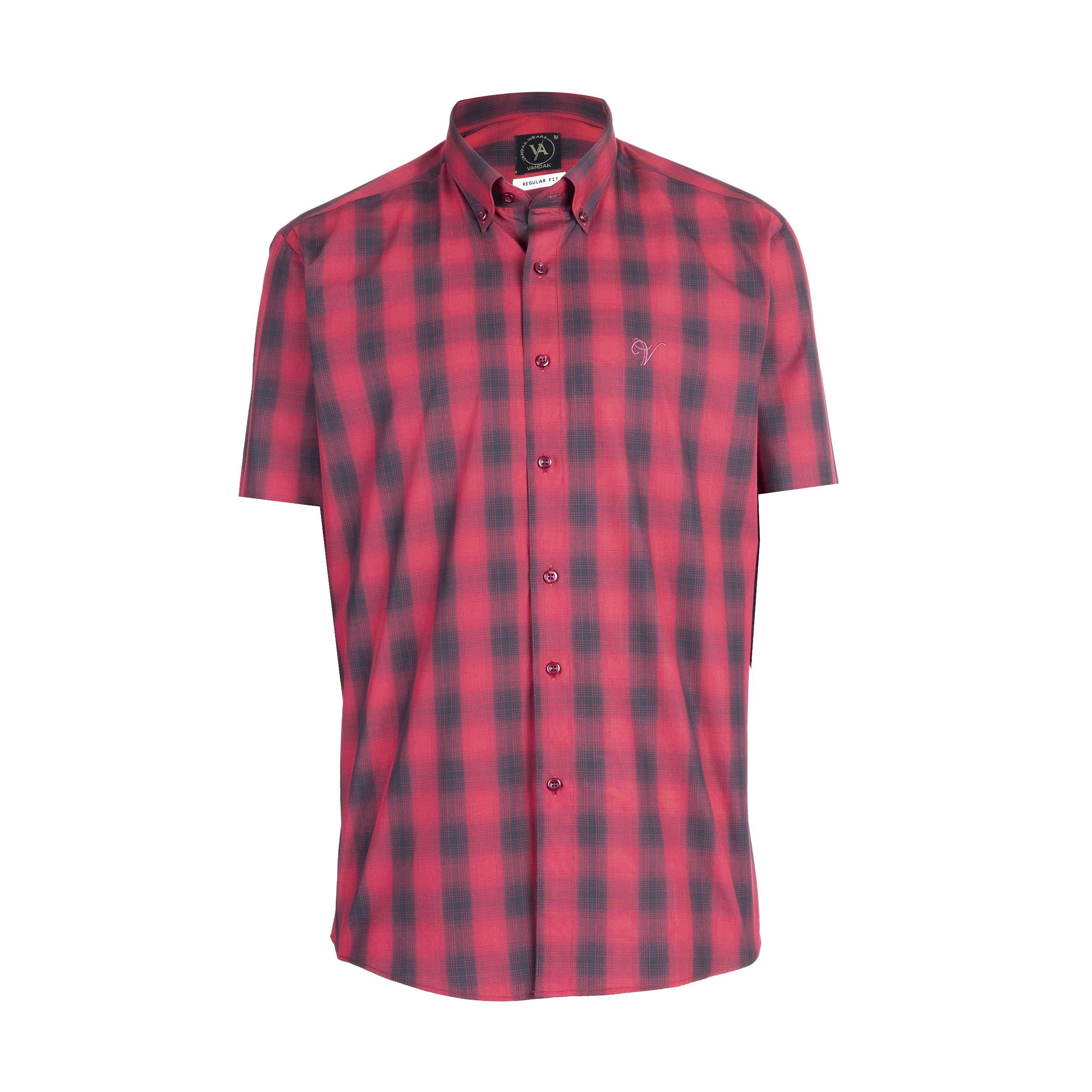 پیراهن آستین کوتاه مردانه مدل  -00- main 1 1