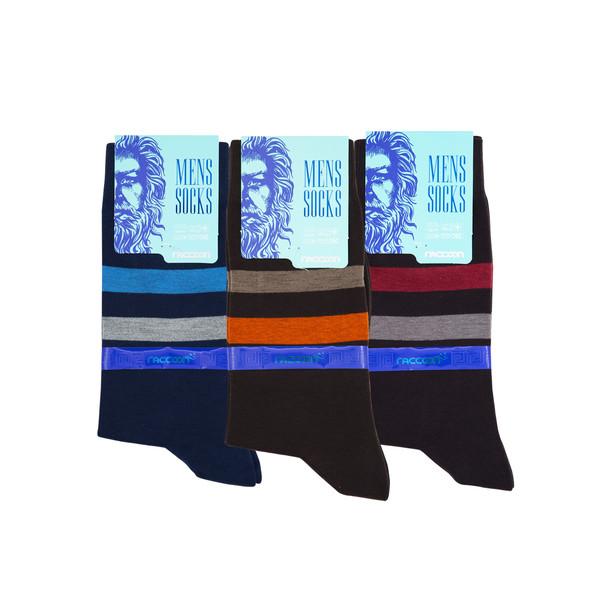 جوراب مردانه راکون مدل 102509 مجموعه 3 عددی