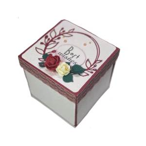 کارت پستال سه بعدی مدل کیک