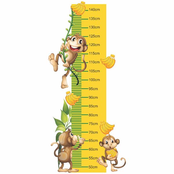 متر اندازه گیری کودک طرح میمونهای بازیگوش
