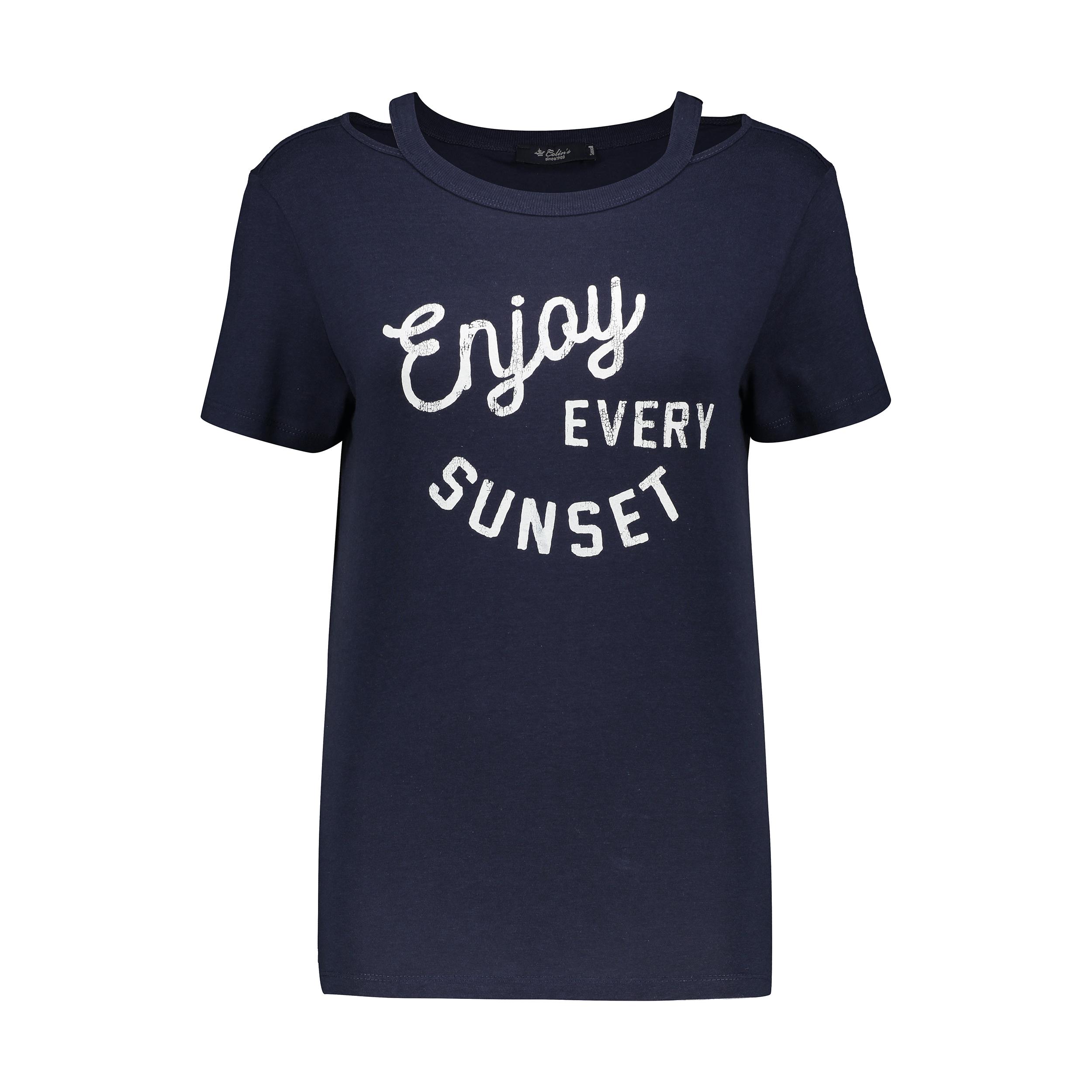 تی شرت زنانه کالینز مدل CL1032829-NAV thumb