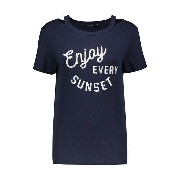 تی شرت زنانه کالینز مدل CL1032829-NAV