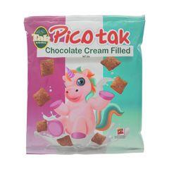 پیکوتک بالشتی مغزدار شکلاتی تک ماکارون مقدار 55 گرم