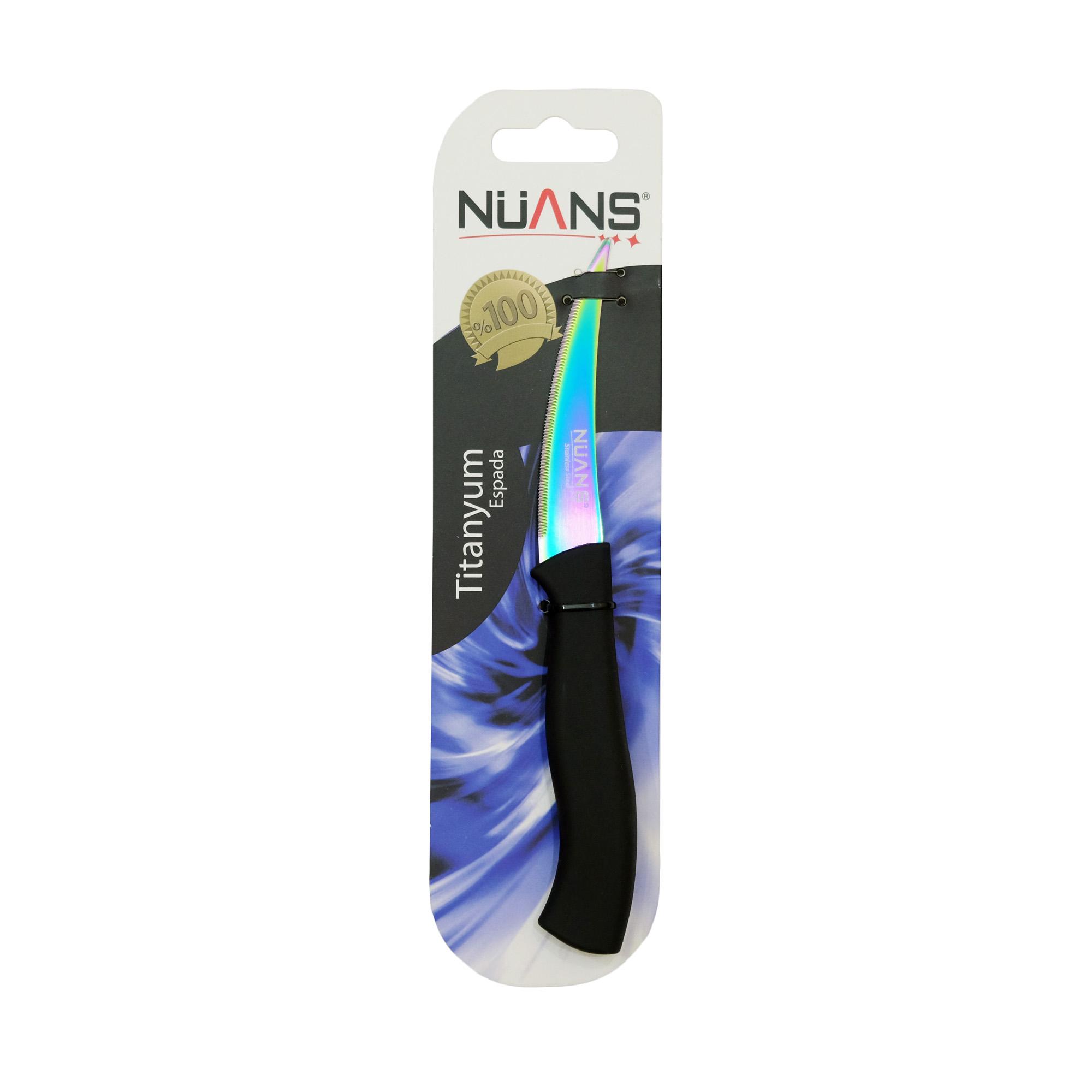 چاقوی آشپزخانه نوانس سری Titanyum کد BLK-18