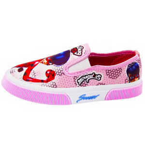 کفش دخترانه رشد طرح دختر کفشدوزکی کد 3