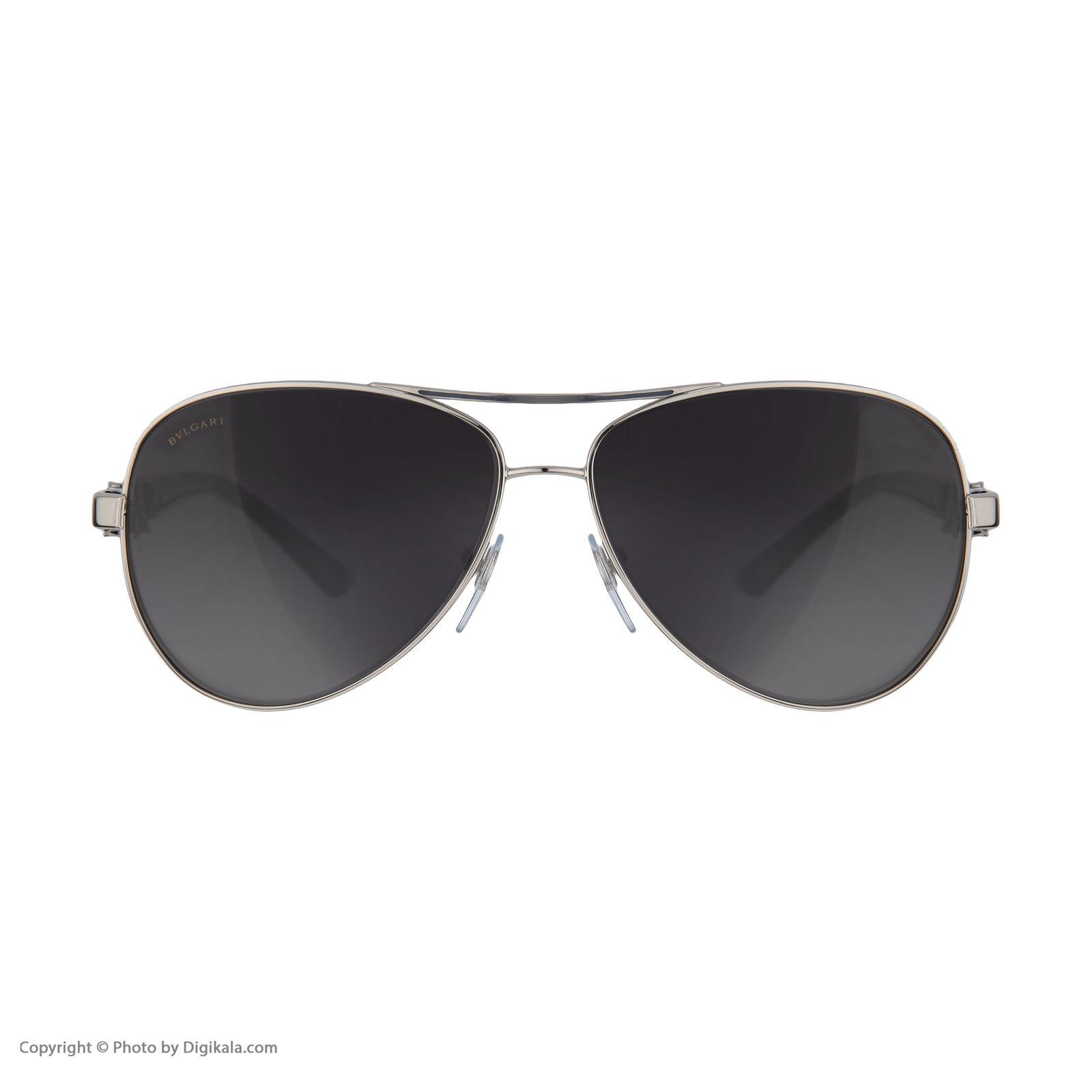 عینک آفتابی زنانه بولگاری مدل  BV6080B 0102T3 -  - 3