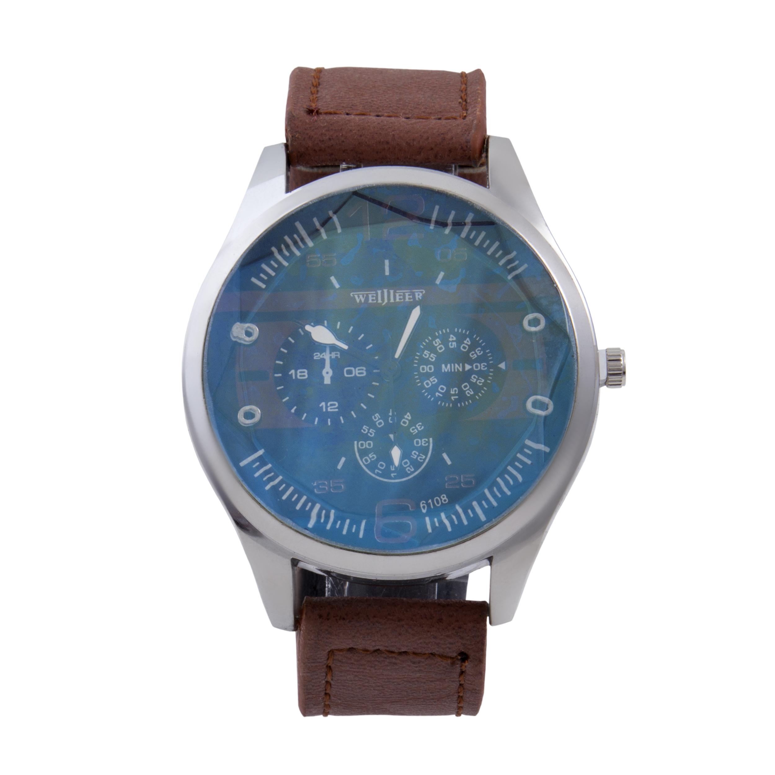 قیمت و خرید                        ساعت مچی عقربه ای مردانه کد WHM_084