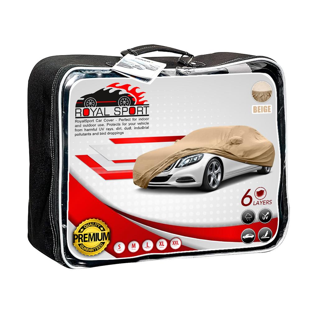 چادر خودرو رویال اسپرت مدل BE مناسب برای پژو 207 صندوق دار