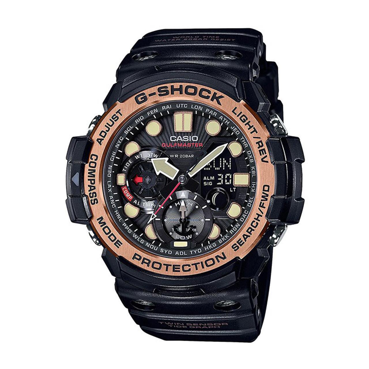 ساعت مچی  مردانه کاسیو جی شاک مدل GN-1000RG-1ADR              اصل