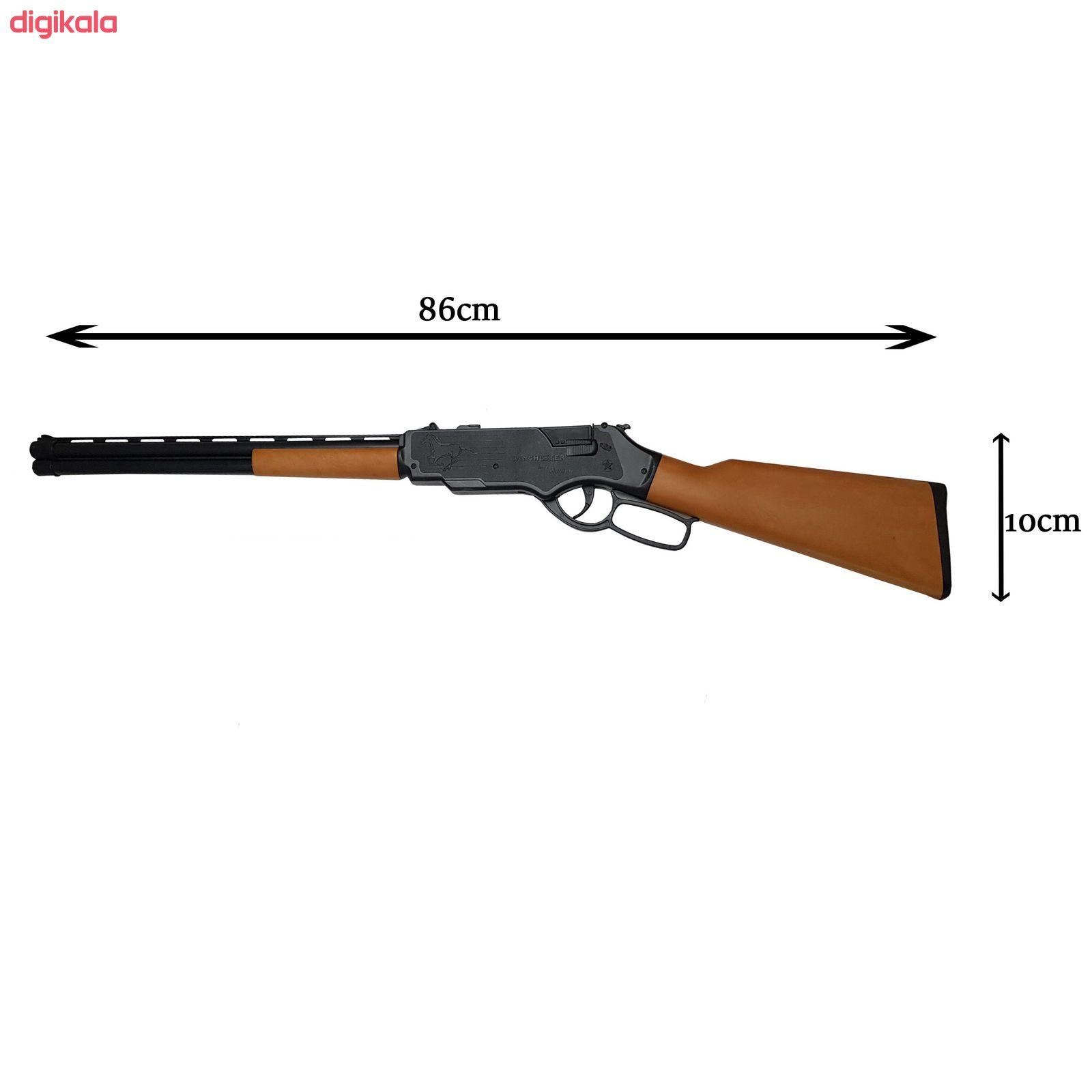 تفنگ بازی گلدن گان مدل naabsell-p100 مجموعه 4 عددی main 1 3
