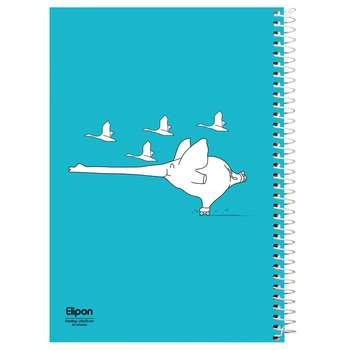 دفتر نقاشی 20 برگ الیپون کد 2535102