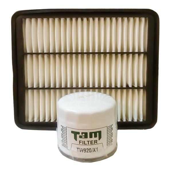 فیلتر روغن تام مدل TW920/X1 مناسب برای خودرو MVM 550 به همراه فیلتر هوا
