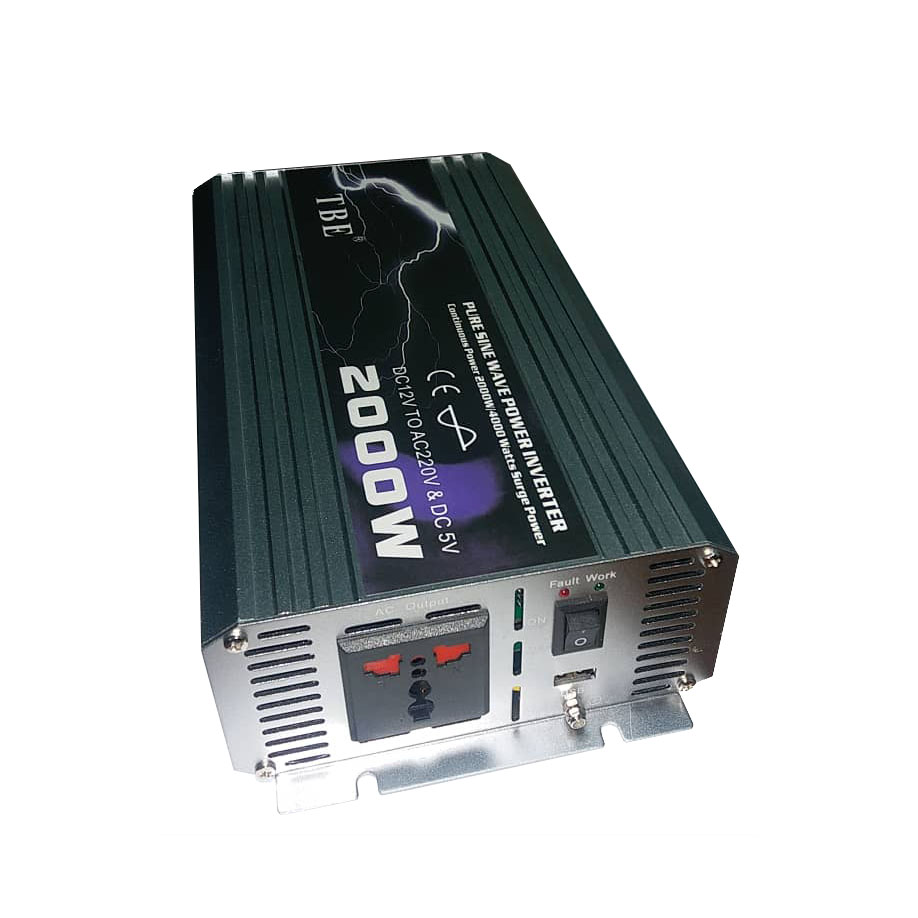 مبدل برق خودرو تی بی ای مدل T12P2000-2