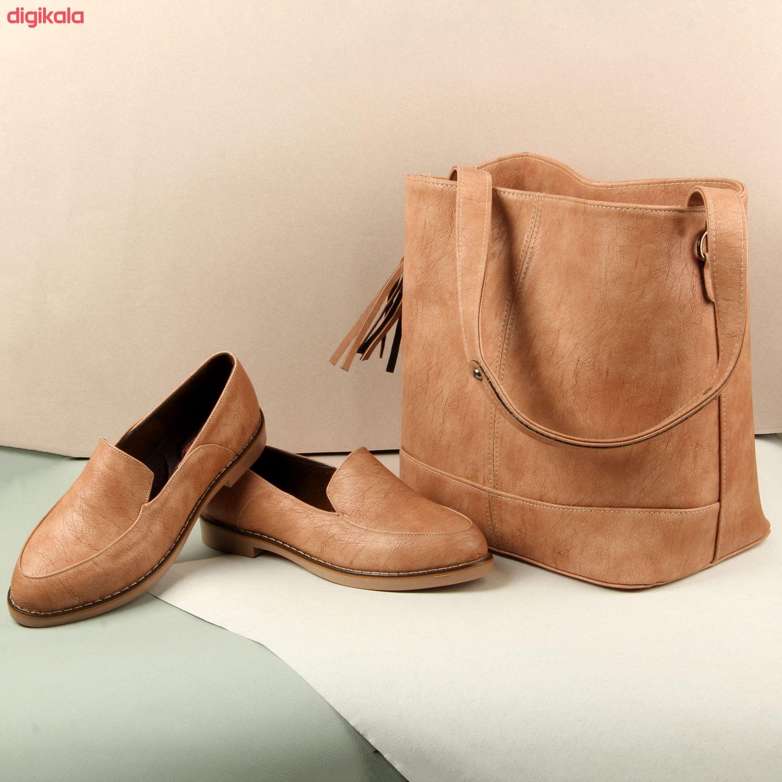 ست کیف و کفش زنانه کد 910-1 main 1 10