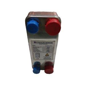 مبدل حرارتی صفحه ای کول سامر مدل CS-PHE014-12P