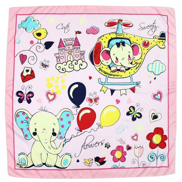 روسری دخترانه مدل فیل کد FIL559