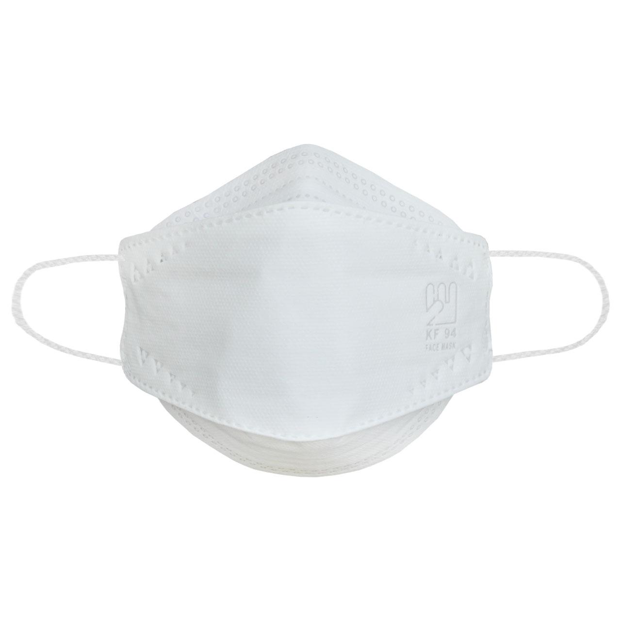 ماسک تنفسی بهسا مدل سه بعدی BSA-25-Ww بسته 25 عددی