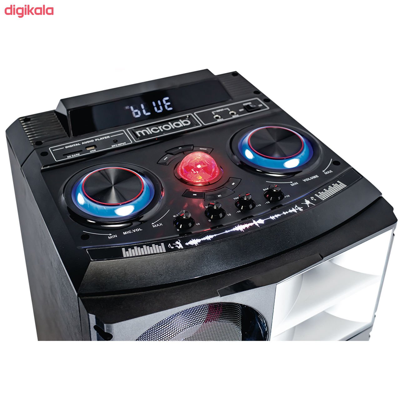 پخش کننده خانگی میکرولب مدل DJ1201SMART main 1 1