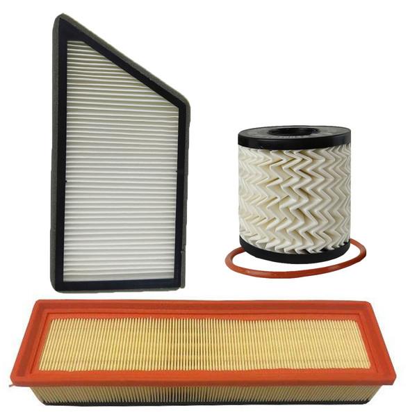 فیلتر روغن تام مدل THU711/51X مناسب برای پژو 206 موتور TU3 به همراه فیلتر هوا و فیلتر کابین