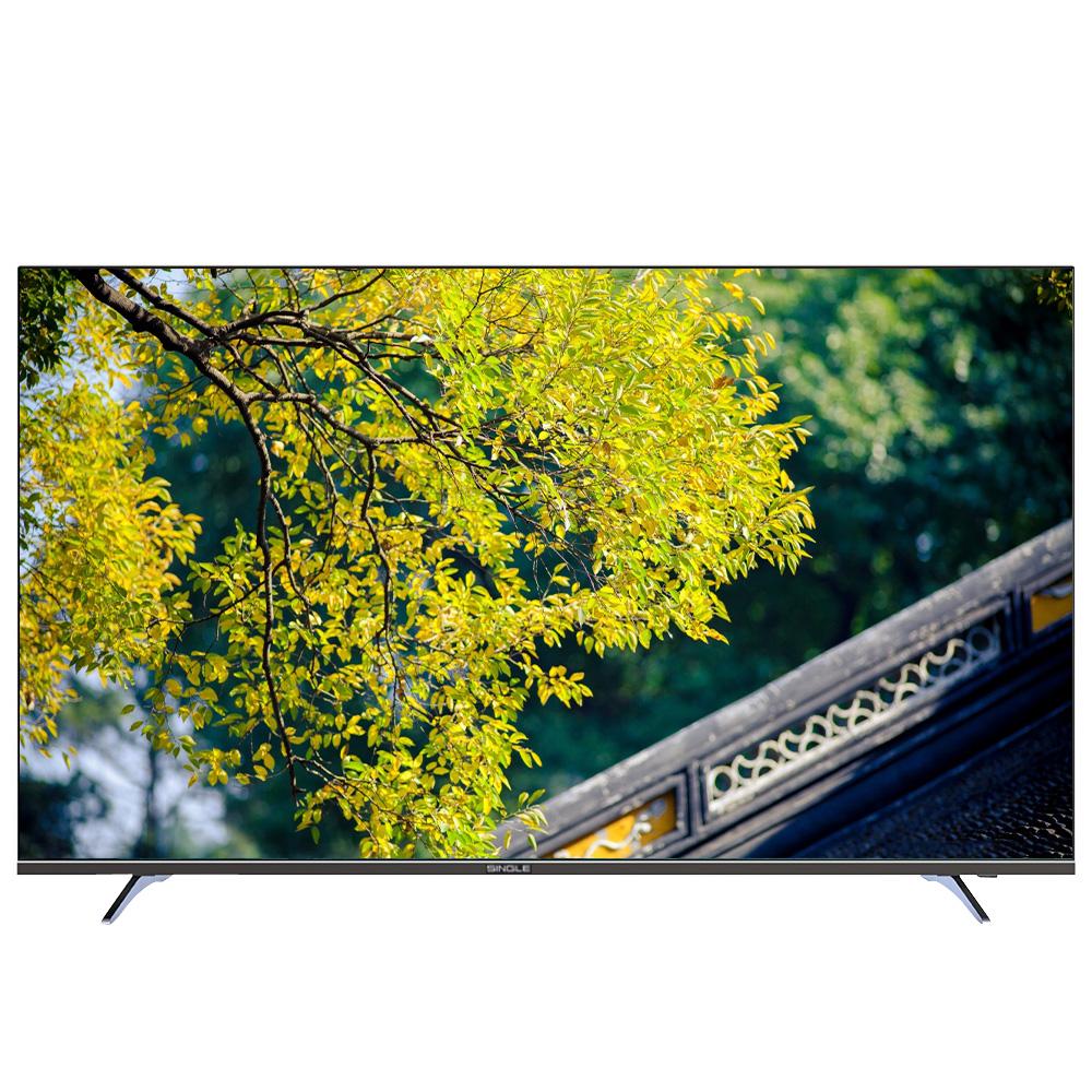 تلویزیون ال ای دی  هوشمند سینگل مدل 6520US سایز 65 اینچ