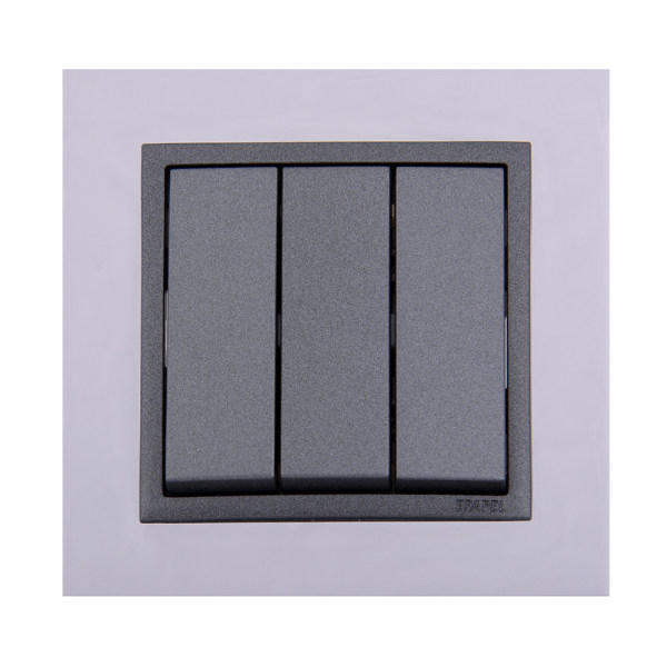 کلید سه پل ایفاپل مدل LOGUS90 METALLO کد 90910TRS/21088/90661
