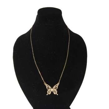 گردنبند طلا 18 عیار زنانه کد 67089