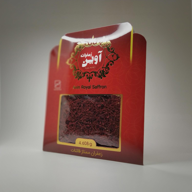 Avin chakeralhosseini royal saffron, 4.608 grams