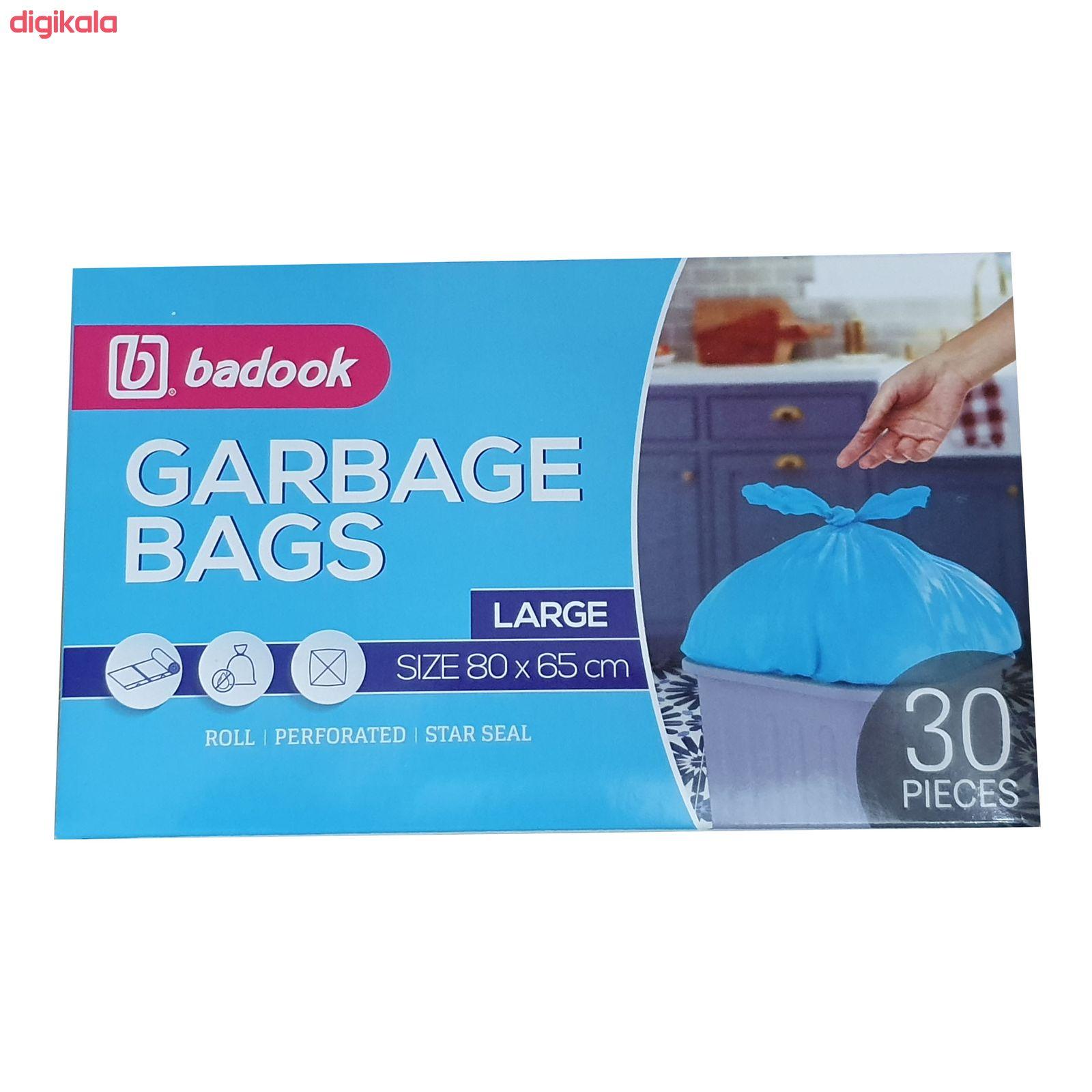 کیسه زباله بادوک مدل L30 بسته 30 عددی main 1 1
