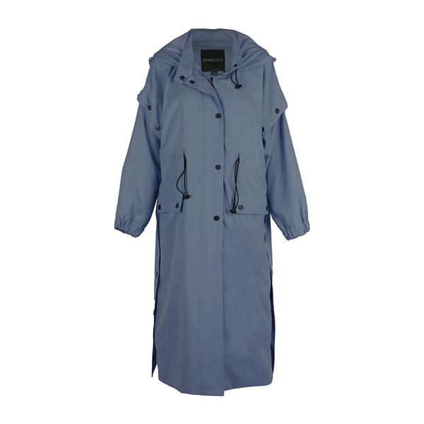 بارانی زنانه زیبو مدل Alora-BLUE