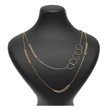 گردنبند طلا 18 عیار زنانه گالری یارطلا  کد GL12