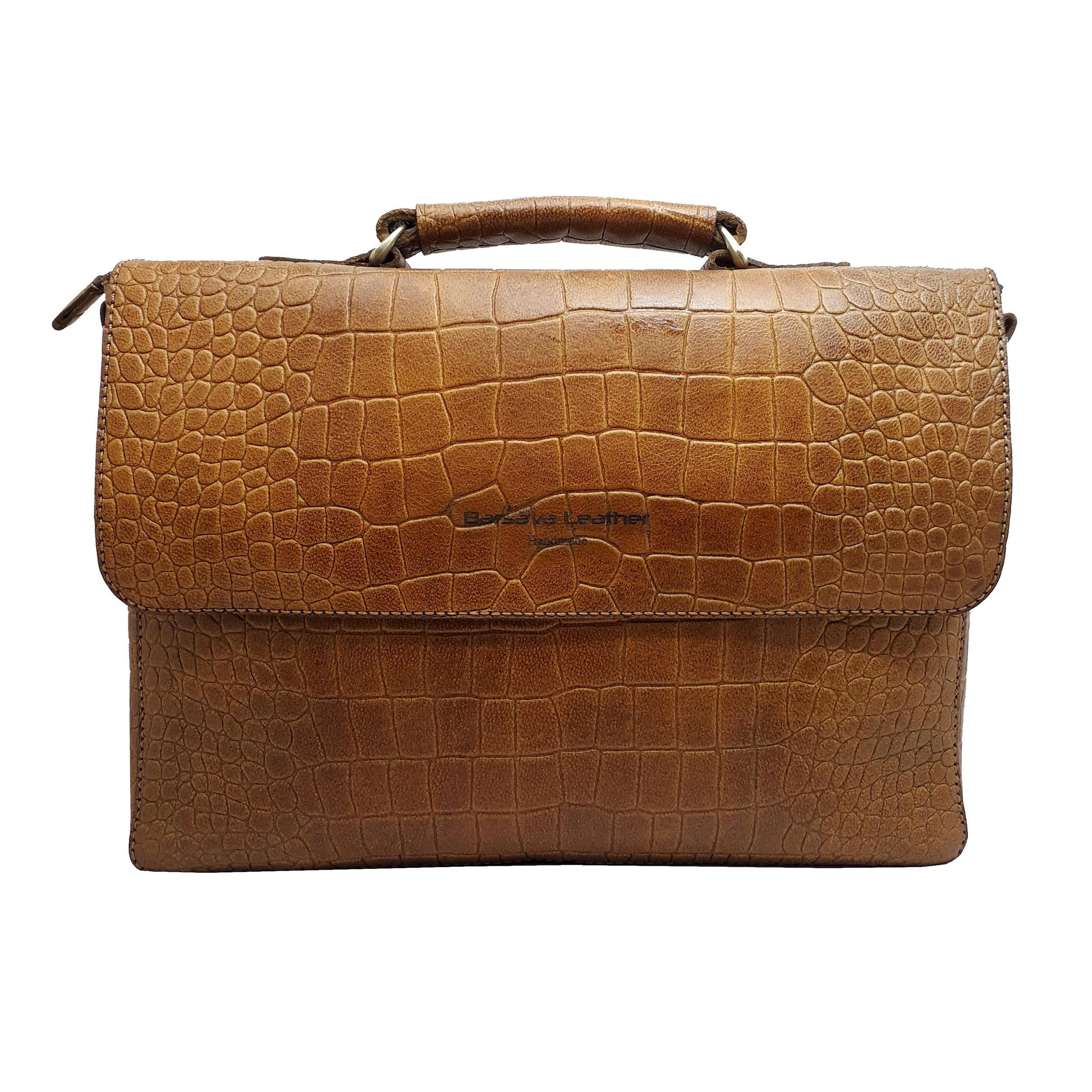 کیف اداری چرم بارثاوا مدل 1105