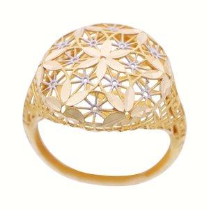 انگشتر طلا 18 عیار زنانه گالری یارطلا کد ANF07
