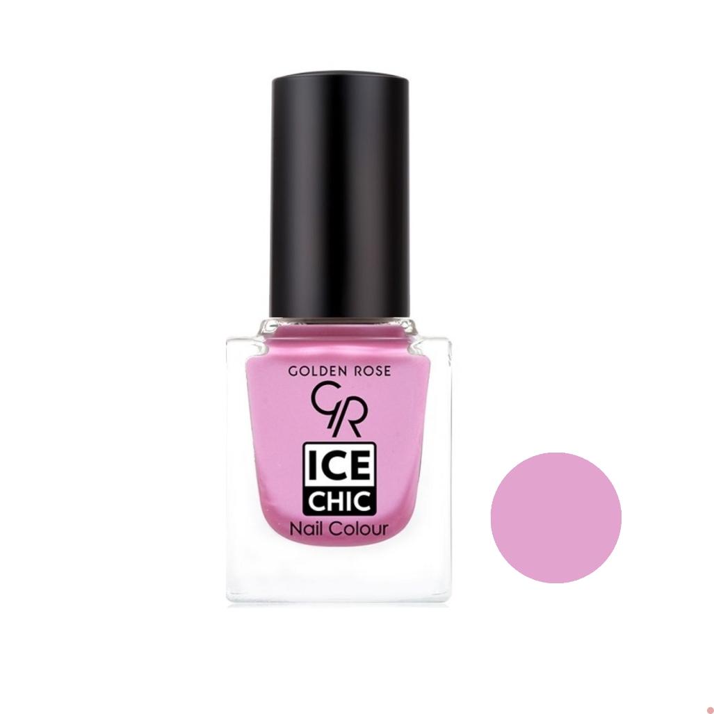 لاک ناخن گلدن رز مدل Ice chic شماره 29