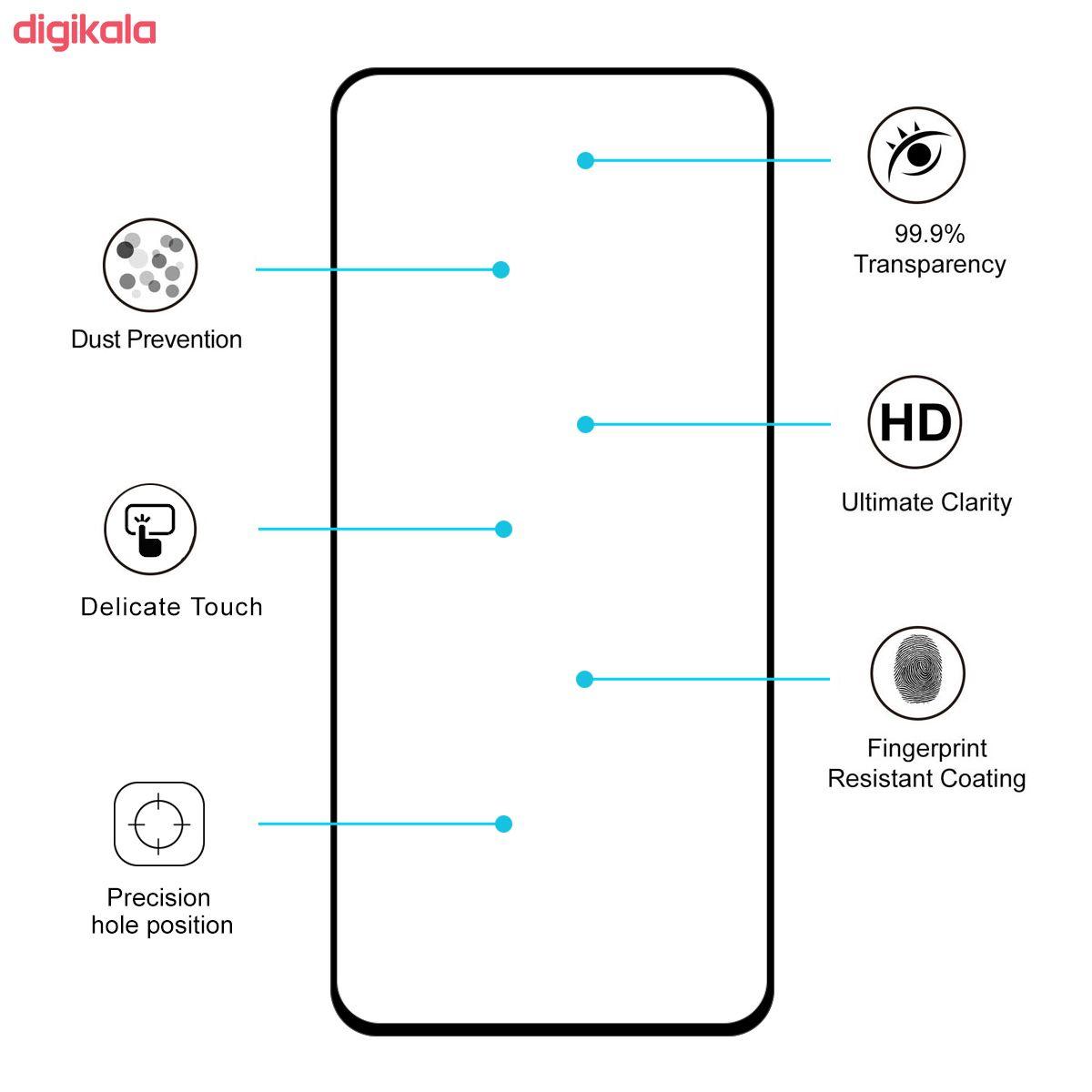محافظ صفحه نمایش فوکس مدل PT001 مناسب برای گوشی موبایل سامسونگ Galaxy A80 main 1 7