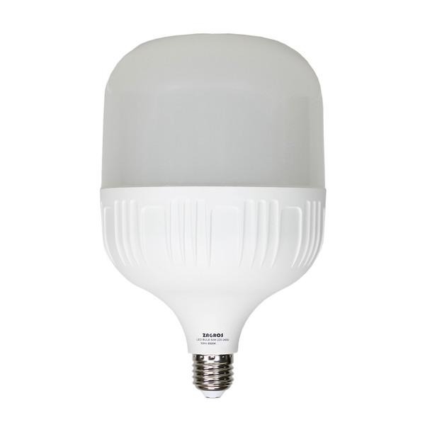 لامپ ال ای دی 50 وات زاگرس مدل 6500k پایه E27