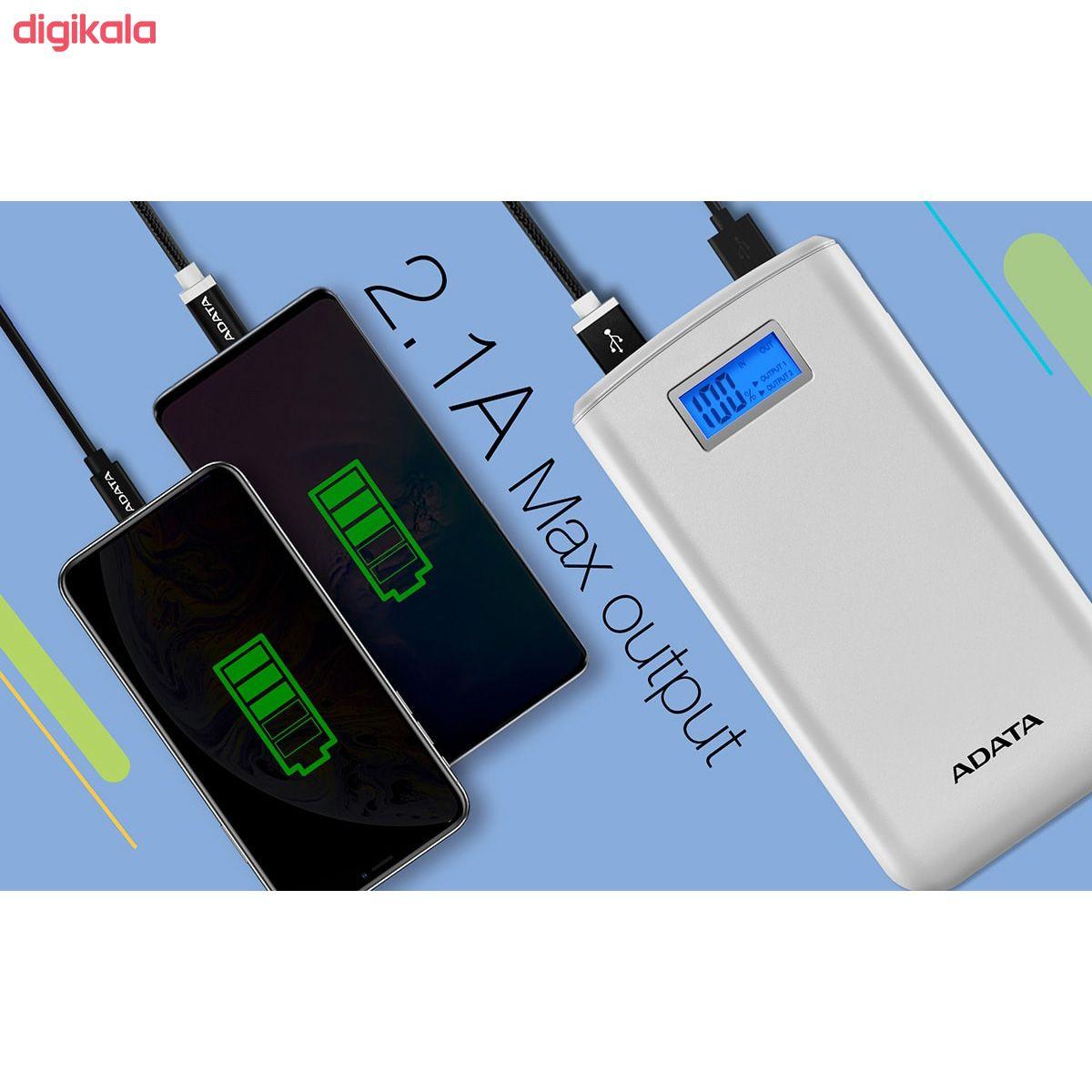 شارژر همراه ای دیتا مدل S20000D ظرفیت 20000 میلی آمپر ساعت  main 1 16