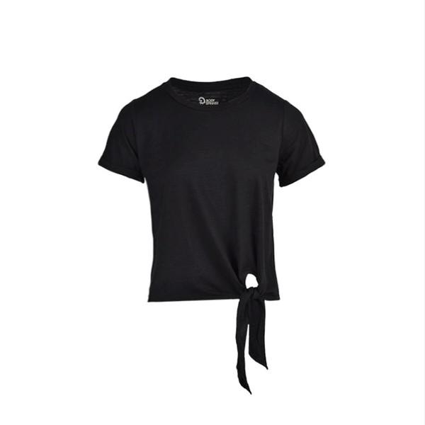 تی شرت آستین کوتاه زنانه بادی اسپینر مدل 11970836 رنگ مشکی