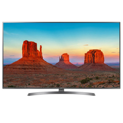 تصویر تلویزیون ال ای دی هوشمند ال جی مدل 55UK69000GI سایز 55 اینچ