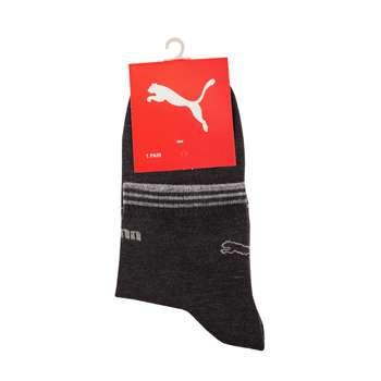 جوراب مردانه مدل P-2020 رنگ ذغالی