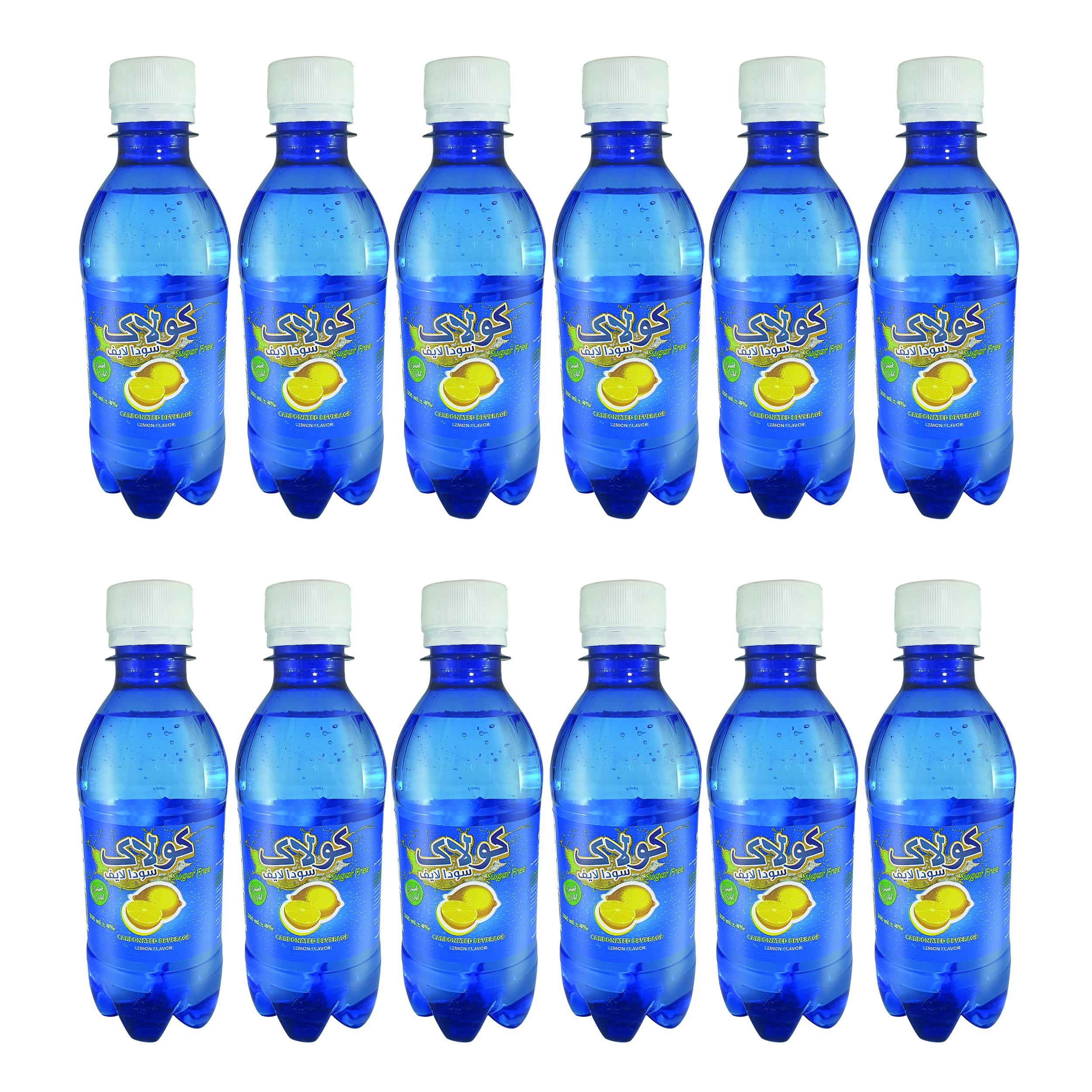 نوشیدنی سودا لیمویی کولاک - 0.3 لیتر بسته 12 عددی